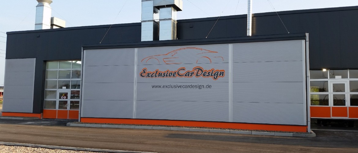 Firmengebäude der Exclusive Car Design OHG